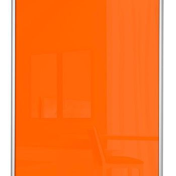 Vareprøve skd farget glass fylling standard F7112 orange glass (PL2003)